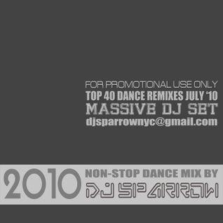 DJ Sparrow's Massive Dance Club Remix Set July 2010