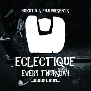 ECLECTIQUE LIVE MIX September 8th 2016 by DJ FUJI and MC JIROtokyo at CLUB HARLEM