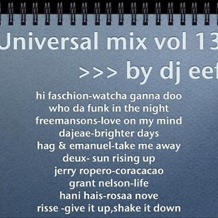 Universal mix vol 13