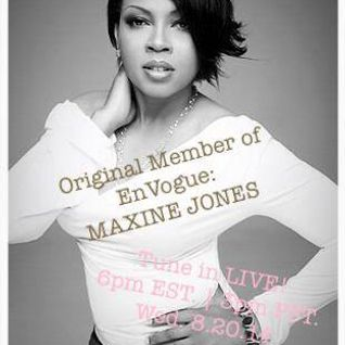 Maxine Jones (Original En Vouge member) live on #MyRealTalkRadio.com