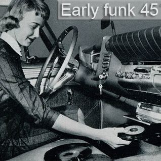 Early funk 45´s - vinyl 45 compilation