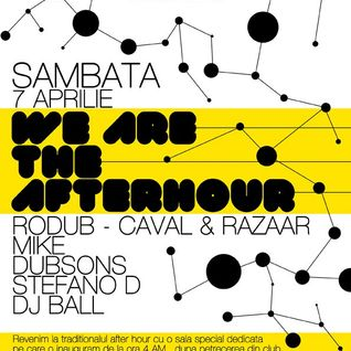 We are the afterhour @ XS Club ( 7 aprilie 2012)