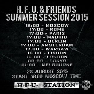 aM (Acoustic-Mirror) - Hard Force United & Friends (Summer Session 2015) 31-08-2015