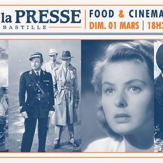 Food & Cinema #6 by ATN @ Cafe de la Presse (01-03-2015)