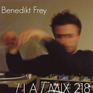 IA MIX 218 Benedikt Frey