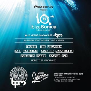 YOUSEF - IBIZA SONICA 10TH ANNIVERSARY SHOWCASE @ LA SALSANERA - THE BPM FESTIVAL 2016