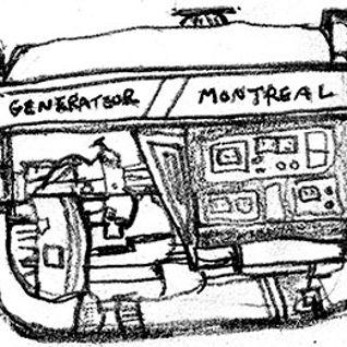 Generator Montreal calls Maiden Voyage