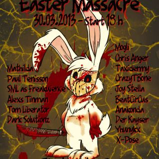 Chris Anger @ Easter Massacre on Electrocution Radio