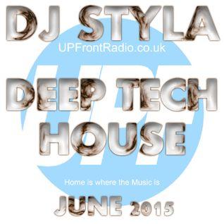 DEEP TECH HOUSE MIX - JUNE 2015
