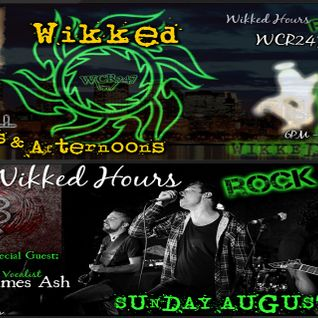 WCR247 WikkedHoursRockShow NABERUS Interview with James Ash Aug. 2016
