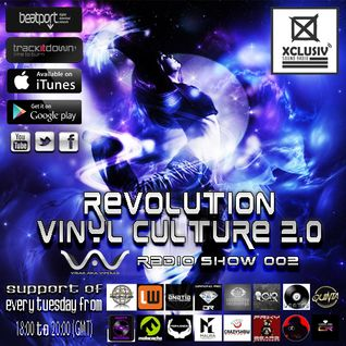 REVOLUTION VINYL CULTURE 2.0 - Podcast 02 (mixed by Virax Aka Viperab)