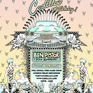 Ben Pistor - Live at Cadillac's 1st birthday mix