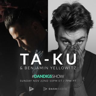 Show 057 - Special Guests: Ta-ku & Benjamin Yellowitz - Van Hunt, Mr Carmack, Money Mark 11.22.15