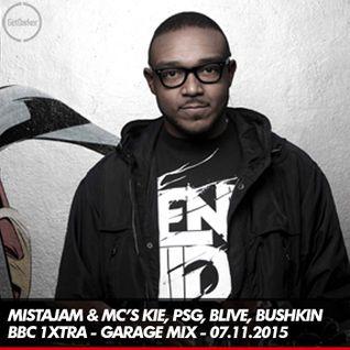 Mista Jam & MC's Kie, PSG, Bushkin, B-Live, Majestic - BBC 1xtra - 07.11.2015
