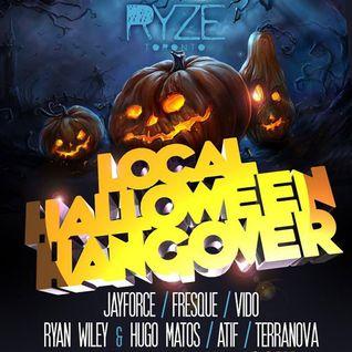 ATIF Live @ RYZE Toronto Haloween 2014