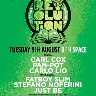 Carlo Lio @ Music is Revolution Week 9, Space Ibiza - 09 August 2016