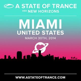 Aly & Fila b2b John O'Callaghan - Live @ A State of Trance, ASOT 650 (UMF, Miami) - 30.03.2014