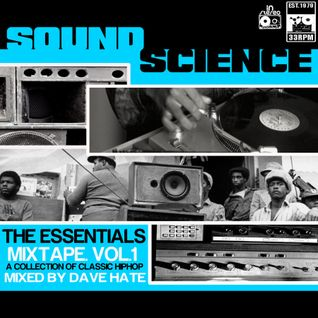 SOUND SCIENCE VOL. 1-------EARLY 90'S HIPHOP MIXTAPE
