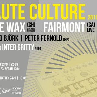 Kate Wax - Live @ Haute Culture, Norrköping, Sweden, September 2011 (Red Bull Music Academy)