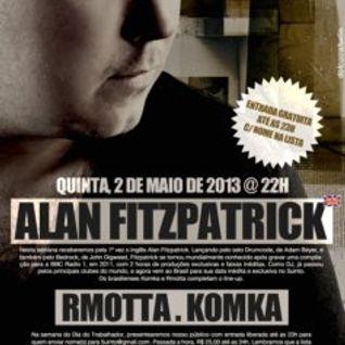 Alan Fitzpatrick - Live @ 5uinto Club – Brasil (02-05-2013)