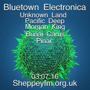 Bluetown electronica live show 03.07.16