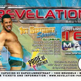 Jon Frost Live at Belgium Pride/Revelation 1st Birthday Party 2015