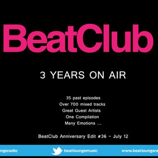 BeatClub By Alex ElVíl 3 YEARS!!! @ BeatLounge Radio (# 36)