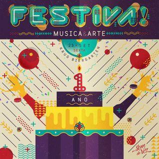 Dj Deivid ao vivo no Festiva Música & Arte