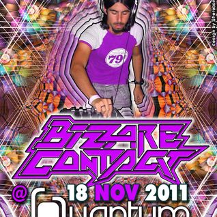 UNIDENTIFIED FREQUENCY/Opening Set - Bizzare Contact Party 2012@Quantum-New Delhi