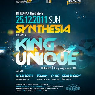 Tomin Tomovic - Live @ Synthesia, KC Dunaj 25-12-2011