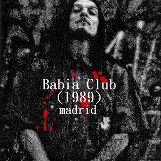 Oscar Mulero - Live @ Babia Club,Madrid (1989) Inicios OM.