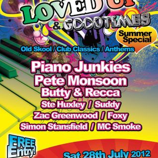 Zac Greenwood - LOVED UP & GT - 28th July 2012