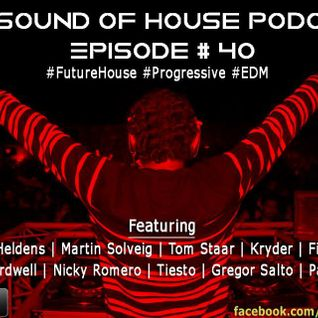 Parax- The Sound Of House Podcast Episode # 40 (Future House Edition)
