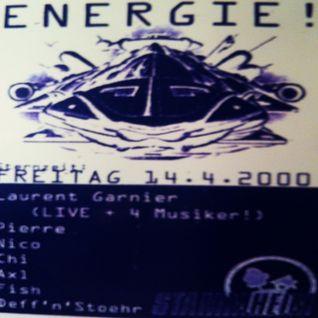 Laurent Garnier (Live PA + 4 Musiker) @ Energie! - Stammheim Kassel - 14.04.2000