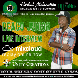 Discover Deago Junior, conscious artist from Jamaica, in this live interview