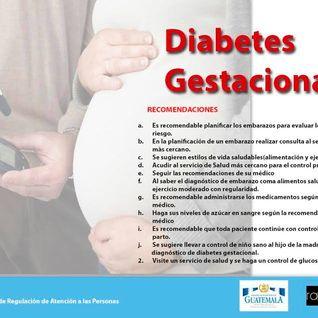 Diabetes Gestacional, 14 de julio 2016