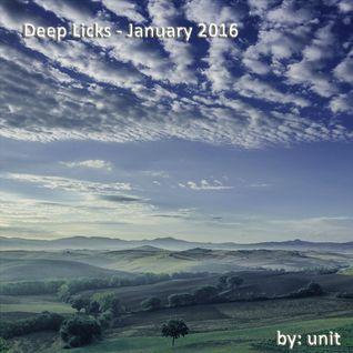 Deep Licks January 2016