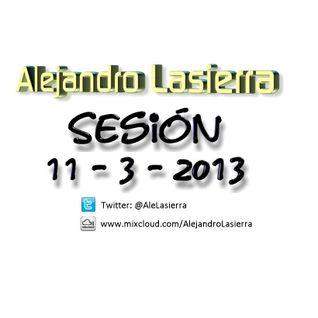 Alejandro Lasierra - Sesión 11 marzo 2013