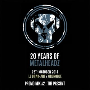 20 Years Of Metalheadz Promo Mix #2 : The Present