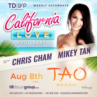 CHRIS CHAM LIVE @TAOBEACH LAS VEGAS AUG 8TH 2015
