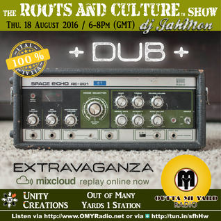 A Dub Extravaganza on Outta Mi Yard Radio