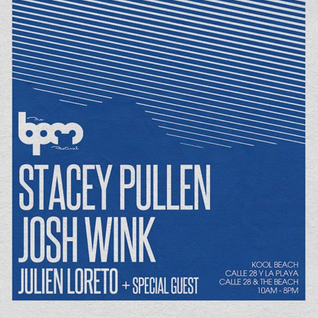 The BPM Festival / Stacey Pullen @ Kool Beach / 2013.JAN.6th / Ibiza Sonica