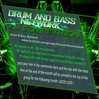 drum & bass network dj competition mixed by marcomi