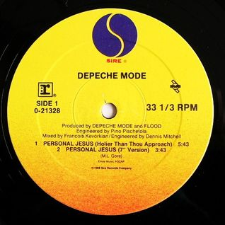 Depeche Mode - Personal Jesus (Remixed by Pied Piper)
