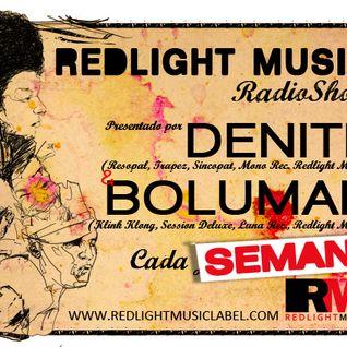 Redlight Music Radioshow 025 // By Bolumar (English)