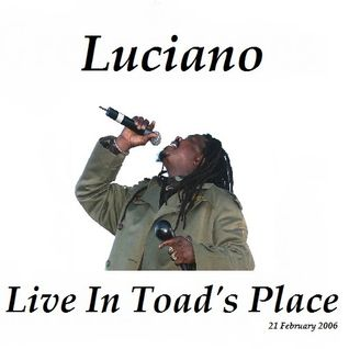 Luciano w/ The Jah Messenjah Band featuring Dean Frazier  Live at Toad's Place (21-02-2006)