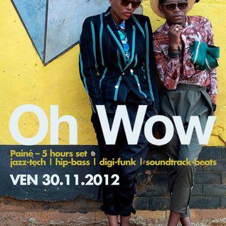 Painè - Oh Wow @ Biko 30/11/2012 Part 1