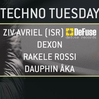 Rakele Rossi - WIOYM - Techno Tuesday - 04.08.2015