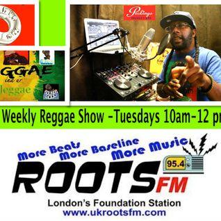Reggae ina ur Jeggae 24-11-15 on Roots fm