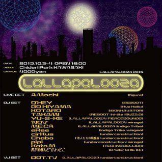 Kato M Live @ Lallapalooza 2015